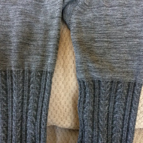 A New Day Fleece lined tights Gray Size L/XL